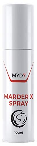 PHARMA HEALTH Marder X Spray | Marderschreck | Marderabwehr | für Auto, Dachboden, Garten, Haus 100m