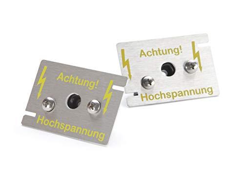 2 Hochspannungs-Sensoren zur Erweiterung der MarderSICHER-Systeme Active und Mob