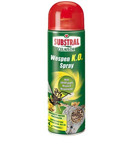 Celaflor Wespen K.O. Spray, gegen Wespe und Wespennest, Super- Distanz-Sprhstrahl bis 4 Meter - 500 m