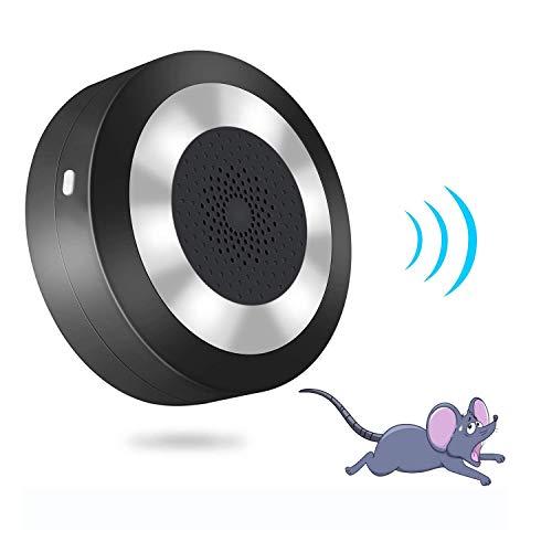 YGJ Maus Vertreiber Ultraschall + Elektromagnetische Mäuseabwehr Indoor Elektronischer Plug-in Rattenabwehr gegen Mäuse mit Nachtlicht ohne Chemie und Mäusefalle Sicher für Menschen und Haustier