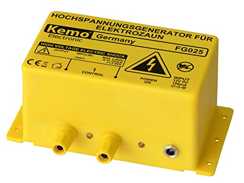 Kemo FG025 Weidezaungerät - Hochspannungsgerät für Elektrozaun FG025