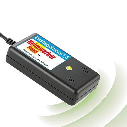 ISOTRONIC Marderschreck Blitz mit Licht / LED Blitzlichtfunktion Ultraschall für Haus, Garage und Dachboden - vertreibt Nicht nur Marder, auch Mäuse, Ratten, ideal für den Innenraum mardersicher (1)
