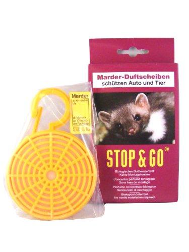 AD Anti-Marder-Duftkörbchen Duftkonzentrat auf Tierfettbasis. Riecht nach 'gefährlichem Feind'. Große Verdunstungsfläche für intensive Duftabgabe. Lange Wirksamkeit. Lasche mit Verfalldatum.