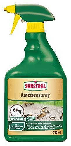 Substral Ameisenspray gebrauchsfertiges Kontaktspray, zur Bekämpfung von Ameisen, 750 ml Sprühflasch