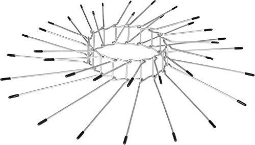 Gardigo Marderabwehrgürtel 2er Set für Fallrohre Ø 100mm bis Ø 120mm I Marderabwehr aus rostfreiem Edelstahl für Haus Dachrinne und Baum