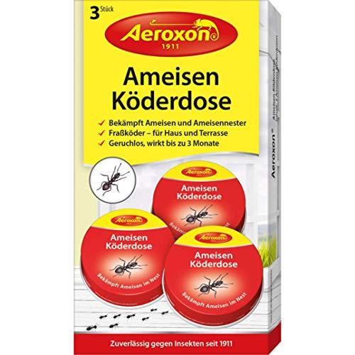 Aeroxon - Ameisen-Kder - bekmpft das ganze Ameisennest, 1er pack (3 stck)