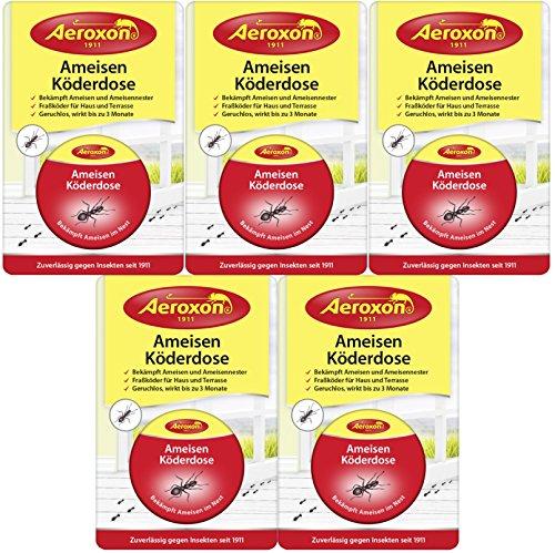 Aeroxon Ameisen Kderdose (5er Pack)