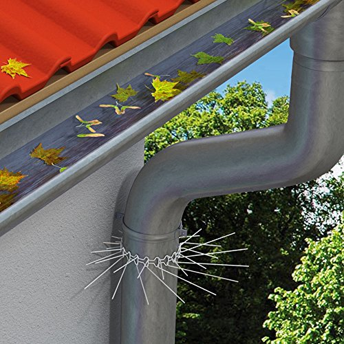 PROHEIM Marderabwehrgürtel für Fallrohre bis zu Ø 100 mm Marderschutz Marderstopp individuell anpassbar durch Stecksystem der Gürtelglieder